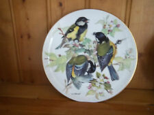 "LOVELY TIRSCHENREUTH LTD EDN WWF PLATE "" GREAT TITMOUSE ""  URSULA BAND -"
