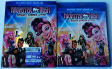 MONSTER HIGH FRIGHTS CAMERA ACTION BLU RAY DVD + SLIPCOVER FREE SHIPPING BUY NOW