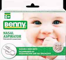 Benny Baby Nasal Vacuum Aspirator Nose Cleaner Snot sucker - Always helps