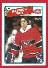 PATRICK ROY 1988-89 Topps #116 Hockey card Montreal Canadiens Colorado Avalanche