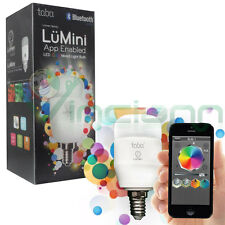 Lampadina Led E14 Tabu LuMini luce colorata Bluetooth lampada per IOS e Android