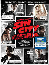 Sin City A Dame to Kill For BLU-RAY + DVD + BLU RAY 3D + Digital Copy Steelbook,