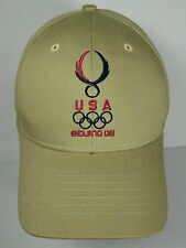 2008 USA OLYMPIC TEAM BEIJING CHINA OLYMPICS ADJUSTABLE CAP HAT MICHAEL PHELPS