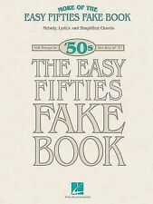 More of the Easy Fifties Fake Book: Melody, Lyrics and Simplified Chords by...