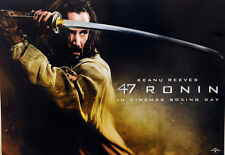 2 X 47 RONIN FILM CINEMA A3 POSTERS KEANU REEVES TWO BRAND NEW POSTERS SAMURAI