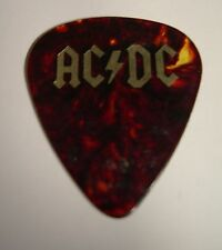 AC/DC ANGUS YOUNG GUITAR PICK FOR THOSE ABOUT TO ROCK 1982 TOUR