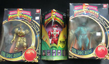 MIGHTY MORPHIN POWER RANGERS PINK RANGER BABOO AND GOLDAR IRWIN 1993 MIB!