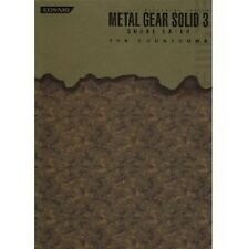 METAL GEAR SOLID 3 SNAKE EATER THE COUNTDOWN Strategy Guide Book PS2