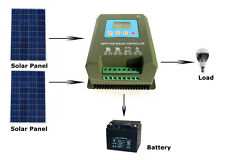 40A MPPT Solar Panel Power Charge Controller Battery Regulator LCD Display dd