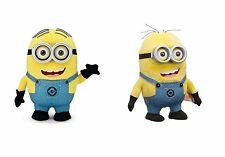 Despicable Me 2 Minion Dave ME2 Talking Plush Figure Doll with Pop Out Eyes NEW
