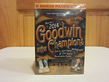 2014 Upper Deck Goodwin Champions  All Sports Blaster Box