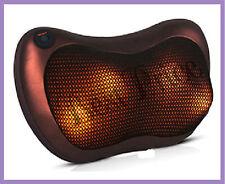 NUOVO ELETTRICO collo/schiena massaggio Cuscino, doppio impiego sia in auto e casa