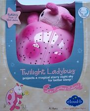 Cloud b Twilight Ladybug Night Light PINK