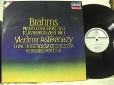 SXDL 7552 BRAHMS Piano Concerto No 1 ASHKENAZY HAITINK DECCA STEREO NETHERLANDS