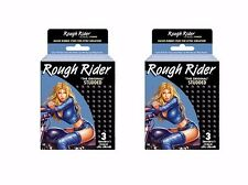 CONDOMS ROUGH RIDER STUDED 12 Boxes Of 3
