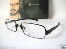 Freudenhaus Titanium Medium Quentin 53-17 Black Eyeglass Frame Specs Mens Glass