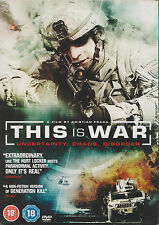 THIS IS WAR - A Film by Kristian Fraga. Operation Iraqi Freedom (DVD 2010)