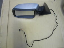 BMW E83 X3 SIDE DOOR MIRROR DRIVER MIRROR OEM SILVER 04-06 NON ELECTRIC FOLD