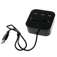All In One Multi-card Reader with 3 ports USB 2.0 hub Combo forMMCM2MS HG - UK