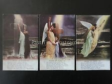 WW1 ROCK OF AGES Bamforth Song Cards set of 3 No 4866 1/2/3