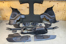 93-02 Camaro/Firebird Ebony Black T-Top Interior Basic Trim Kit Used GM OEM