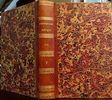 CARPENTIER - Gradus français ou Dictionnaire de la langue poétique. Tome 1. 1825