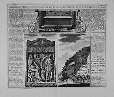 Antique map, Antiquitez curieuses .. de Smyrne et sur le chemin d'Ephese