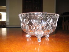 COLLECTABLE VINTAGE CRYSTAL LOLLY BOWL