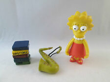 The Simpsons WOS World of Springfield - Lisa - Playmates 2000 Action Figure