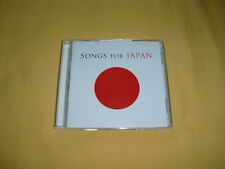 SONGS FOR JAPAN CD X 2 (John Lennon, U2, Bob Dylan, Red Hot Chili Peppers,...)