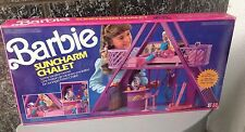 1990#Vintage Barbie Suncharm Chalet Sunny Vacation Home Set#Mattel Nib