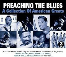 Preaching The Blues DIGIPACK EDITION-A Collection of American Greats 3 CD NUOVO