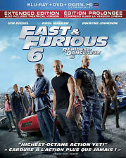 Fast & Furious 6 (Blu-ray + DVD+ Digital HD ) BRAND NEW FACTORY SEALED
