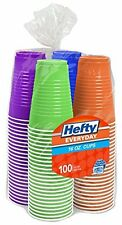 Plastic Cups 16 Oz 100 Count Assorted Colors Kids Birthday Party Supply Drinking