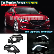 New LED Daytime Running Light For Mazda 6 Atenza Fog Lamp DRL 2013 2014 #ZGD
