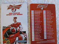 2015 NASCAR SPRINT CUP SERIES POCKET SCHEDULE #4 KEVIN HARVICK