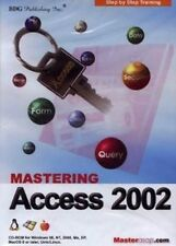 Mastering Microsoft Access 2002   Software Training Tutorial   Brand New Sealed