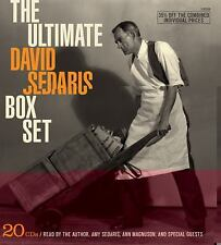 The Ultimate David Sedaris Box Set (20 CDs) 22 hours Amy Sedaris Good condition