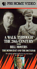 BILL MOYERS A Walk Through 20th Century THE DEMOCRAT AND THE DICTATOR VHS  MINT!