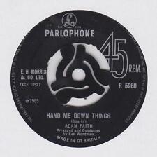 """ADAM FAITH ~ Hand me down things  ~ RARE 1965 7"""""""