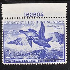 US Sc# RW19-- 2$ Federal Duck Stamp -- Harlequin Ducks-- PNS,  MNH
