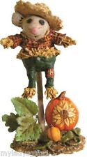 WEE FOREST FOLK SPECIAL COLOR HARVEST GUARDIAN SCARECROW W/SUNFLOWER ATTENDEE