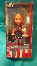 MATTEL KELLY DOLL RED WHITE & CUTE 2003 (NIB)