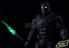 PREORDER 1/6 Kryptonite Spear LED Light Up USA Batman Superman Justice Toys Hot