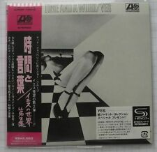 yes - time and a word   japan mini LP  SHM  CD