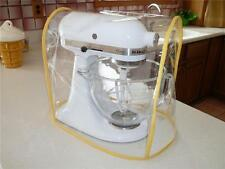 CLEAR MIXER COVER YELLOW trim-fits KitchenAid Tilt-Head 4.5 & 5 Qt. Stand Mixer