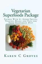 Vegetarian Superfoods Package : Packed with 81 Super Fruits, Veggies, Beans...