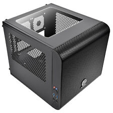 Thermaltake Core V1 Mini-ITX Cube PC Gaming Case 200mm Fan 2 x USB3 Side Window