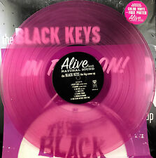BLACK KEYS - THE BIG COME UP -2011 PRESSING, RARE FUSCHIA  VINYL WITH POSTER