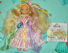 HTF VTG LADY LOVELY LOCKS DOLL 1986 MATTEL & 3 PIXIETAILS & BOOKLET VGC COMPLETE
